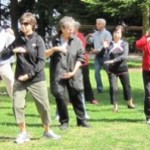 Tai Chi fights aging. I like that.