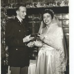 2nd Lt. Roger Wilhelm and new spouse