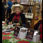 book signing at the Western Heritage Center